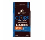 Wellness CORE Large Breed Adult беззерновой сухой корм для собак крупных пород, индейка с курицей [10кг]