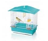 IMAC «Tiffany» Имак клетка д/птиц  бирюзовый, 42х26х42см (02362)