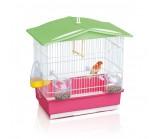 IMAC «Tiffany» Имак клетка д/птиц  розовый, 42х26х42см (02364)