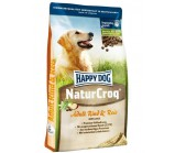 Happy Dog NaturKroq (Хэппи Дог Натур Крок) сухой корм для собак всех пород Говядина с рисом [4 кг]