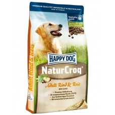 Happy Dog NaturKroq (Хэппи Дог Натур Крок) сухой корм для собак всех пород Говядина с рисом [4 кг]