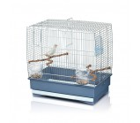 IMAC IRENE 2 Имак клетка д/птиц синий, 45х27х43см (03305)