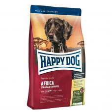 Happy Dog Africa  беззерновой гипоаллергенный корм для собак от 11 кг с мясом страуса