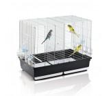 IMAC (Имак)«Tasha» Клетка для птиц оцинк./черный, 80,5х49х65 см (05101)