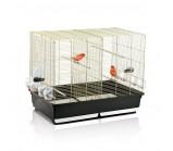 IMAC (Имак) «Tasha» Клетка для птиц золото/черный, 80,5х49х65см