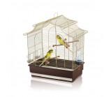 IMAC «Pagoda Export» Имак клетка для птиц золото / коричневый 50х30х53см (06324)