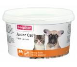 Beaphar Junior Cal Кормовая добавка для котят и щенков (укрепление костей, зубов и шерсти)  200 гр