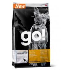 GO! Sensitivity+Shine Duck Dog Recipe Grain Free, Potato Free  Беззерновой корм для Щенков и Собак с Уткой для чувств. пищеварения 2,72 кг