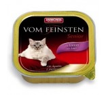 ANIMONDA (Анимонда)VOM FEINSTEN SENIOR конс. с ягненком для стареющих кошек 100г х 32 шт