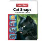 Beaphar Cat Snaps Мультивитаминая кормовая добавка для кошек со вкусом креветок 75 таб.