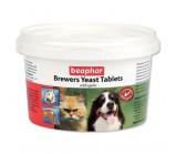 Beaphar Brewers Yeast Tablets Беафар Пивные дрожжи с чесноком для кошек и собак 250 таб.