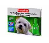 Beaphar Капли био от блох, клещей и комаров для собак мелких пород до 15 кг и щенков с 3 месяцев 1 мл х 1 пипетка