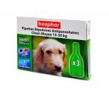 Beaphar Капли био от блох, клещей и комаров для собак средних пород 15-30 кг и щенков с 3 месяцев 2 мл х 1 пипетка