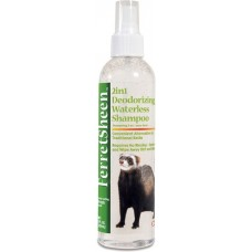 8 in1 FerretSheen 2in1 Waterless Shampoo шампунь для хорьков без смывания дезодорирующий 2в1 спрей 236 мл