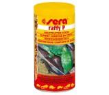SERA RAFFI P основной гранулированный корм для водяных черепах и ящериц