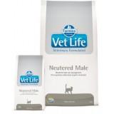 Farmina (Фармина) Vet Life Neutered Male корм для кастрированных котов 10 кг