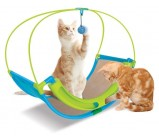 "Kitty City Когтеточка для кошек Школа Рока ""Rocking Roller"" 46*60*33см, сизаль (sp0344)"