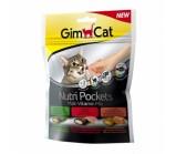 Gimcat NutriPockets Подушечки Нутри Покетс Мальт-Витамины Микс д/кошек 150 г
