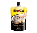 GimCat Пудинг с солодом и кальцием для кошек, 150 г (406718)
