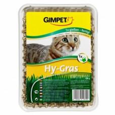 Gimpet «Hy-Gras» гидро-травка быстро прорастающая для кошек лоток  150г (407296)