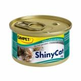 Gimpet (Гимпет) ShinyCat консервы д/кошек с цыплёнком и креветками 70 гр