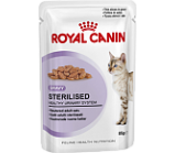 Royal Canin (Роял Канин) Sterilised Корм для стерилизованных кошек старше 1 года (кусочки в соусе) 85 гр х 12 шт.