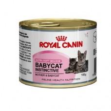 Royal Canin Babycat Instinctive Мусс для котят с рождения до 4 месяцев 195 гр
