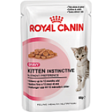 Royal Canin (Роял Канин) Kitten Instinctive кусочки (в соусе) для котят  4 до 12 месяцев 85 гр х 12 шт.