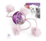 GiGwi 75071 Игрушка для кошек Мячик пластмассовый с погремушкой 4 см