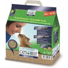 Cat's Best Green Power (Кетс Бест Эко плюс) Древесный комкующийся наполнитель для котят и кошек 8л*3,2кг