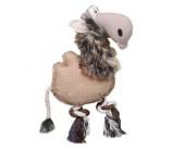 """DEZZIE (Деззи) Игрушка для собак """"Верблюд"""" Хлопок/Искусственный мех 28х20х5 см"""