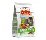 "Little One (Литтл Ван) Green Valley ""Зеленая долина"" корм для шиншилл 750 гр"