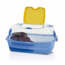 Имак террариум для черепах закрытый SANTE FE с фонтан-островом электр., 54х39х27см (57199)