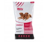 Blitz (Блитц) Adult Energy сухой корм для рабочих, охотничьих и спортивных собак 15 кг