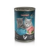 Leonardo Quality Selection Kitten Rich In Poultry  Консервы Леонардо для котят с птицей 400гр