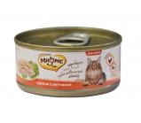 Мнямс консервы для кошек Курица с ветчиной в нежном желе 70 г