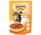 Мнямс паучи для взрослых кошек идеальный баланс с курицей в соусе 100 гр х 24 шт.
