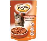 Мнямс паучи для взрослых кошек идеальный баланс с говядиной в соусе 100 гр х 24 шт.