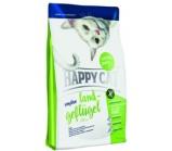 Happy Cat Sensitive Grainfree Land Geflugel (Хэппи Кэт) Домашняя птица монобелковый беззерновой корм для кошек