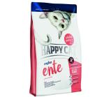 Happy Cat Sensitive Grainfree Ente (Хэппи Кэт) монобелковый беззерновой корм для кошек с уткой и рисом