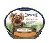 Happy Dog  NaturLine (Хэппи Дог) нежный паштет для собак Индейка