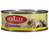 Berkley (Беркли) №9 консервы д/кошек Мясо кролика 100г х 6 шт