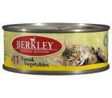 Berkley (Беркли) №11 консервы д/кошек Тунец с овощами 100г х 6 шт