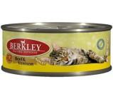 Berkley (Беркли) №12 консервы д/кошек Говядина с олениной 100г х 6 шт