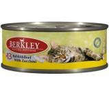 Berkley (Беркли) №13 консервы д/кошек Кролик и говядина с цукини 100г х 6 шт