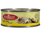 Berkley (Беркли) №14 консервы д/кошек Облегченная формула Телятина и кролик 100г х 6 шт