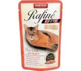 ANIMONDA (Анимонда) RAFINE SOUPE ADULT Коктейль из курицы, утки и пасты для взрослых кошек (пауч) 100гр.х 24 шт
