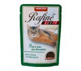 ANIMONDA (Анимонда) RAFINE SOUPE ADULT Коктейль из говядины, мяса гуся и яблок для взрослых кошек (пауч) 100гр.х 24 шт