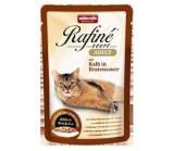 ANIMONDA (Анимонда) RAFINE SOUPE ADULT Коктейль из телятины в жареном соусе для взрослых кошек(пауч) 100гр.х 24 шт