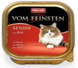 ANIMONDA (Анимонда)VOM FEINSTEN SENIOR конс. с говядиной для стареющих кошек 100г х 32 шт